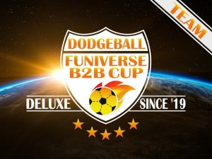 2. Dodgeball Funiverse B2B Cup Deluxe - Team
